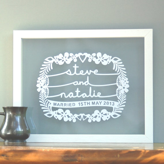 Personalised Wedding Gift Etsy : Personalized Wedding Gift by antdesign on Etsy