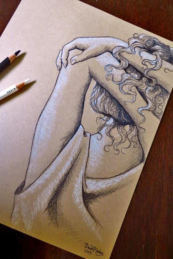 Summer Heat Original Sketch