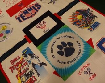 TENNIS BLANKET Custom T-Shirt Blanket