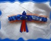 Orange Organza Wedding Garter Toss Made with Syracuse Fabric~~SALE~~~