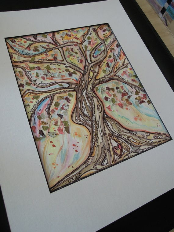 Items Similar To Meditation Tree Tree Of Life Original
