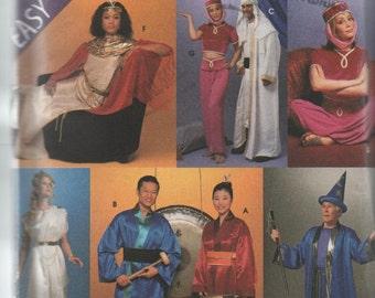 Kimono Genie Outfit Wizard Godess Costume Pattern Simplicity 8311 to Sew