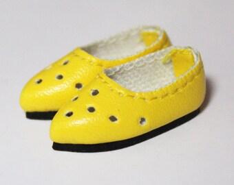 Yellow Ventilation Pointed Head Slip-On for BJD Dolls Lati Yellow, PukiFee, Riley Kish, Bobobie Nissa, DIM Silf, Dollk S00065C