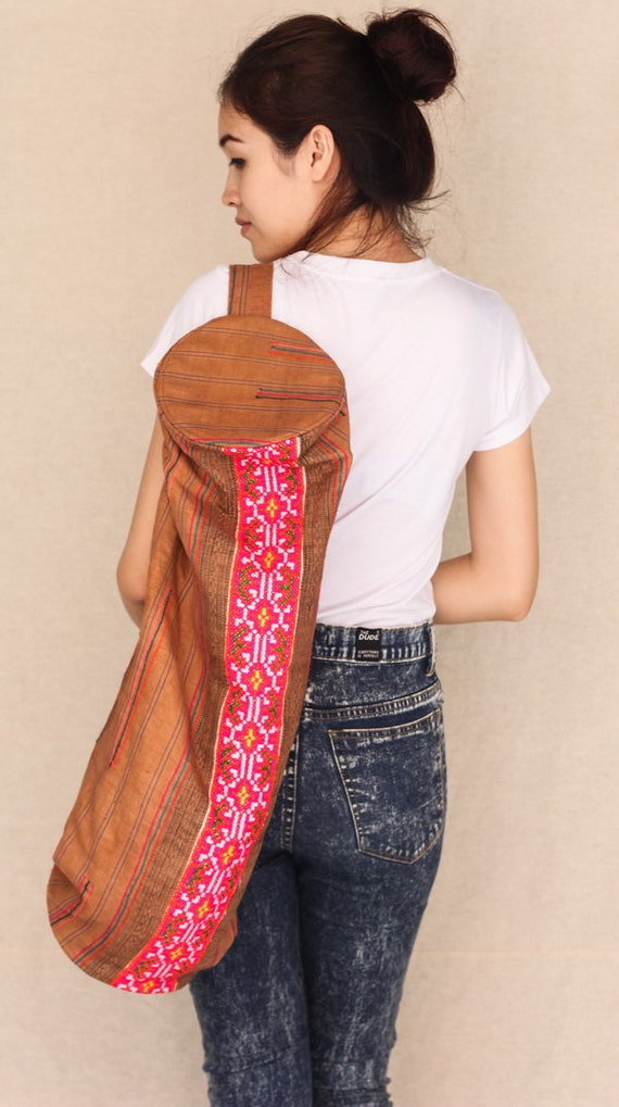 Sweet Yoga Mat Bag Eco Friendly 100 Percents Hemp