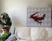 Fiber Textile Art Wall Hanging - Spontaneous