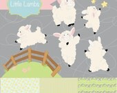 Instant Download - Woolsey the sheep digital clip art