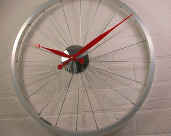 Bicycle Wheel Clock for Ruth