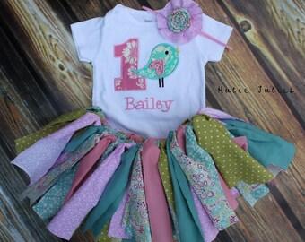 Bird Birthday Shirt - Bird Girls Birthday Shirt - Boys Birthday - Toddler Birthday Shirt - First Birthday - Tweet to be One