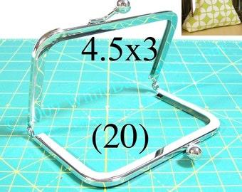 30% OFF 20 Nickel free 4.5x3 purse frame