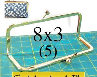 12% OFF 5 Goldenlock(TM) 8x3 purse frame