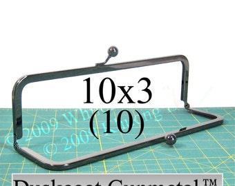 17% OFF 10 Duskcoat Gunmetal(TM) 10x3 purse frame