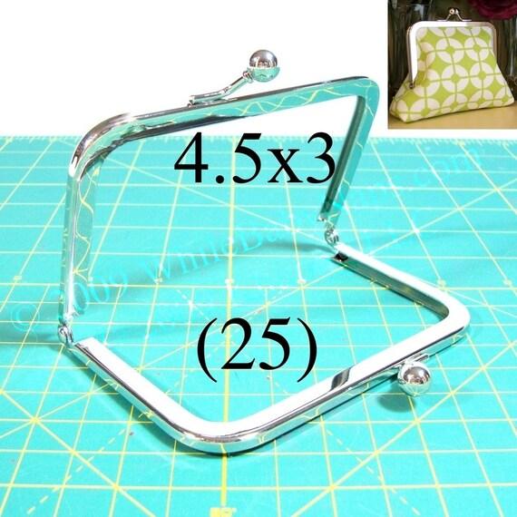 35% OFF 25 Nickel free 4.5x3 purse frame