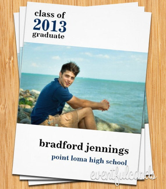 Class of 2017 High School/College Graduation Card - Print at Home or E-card