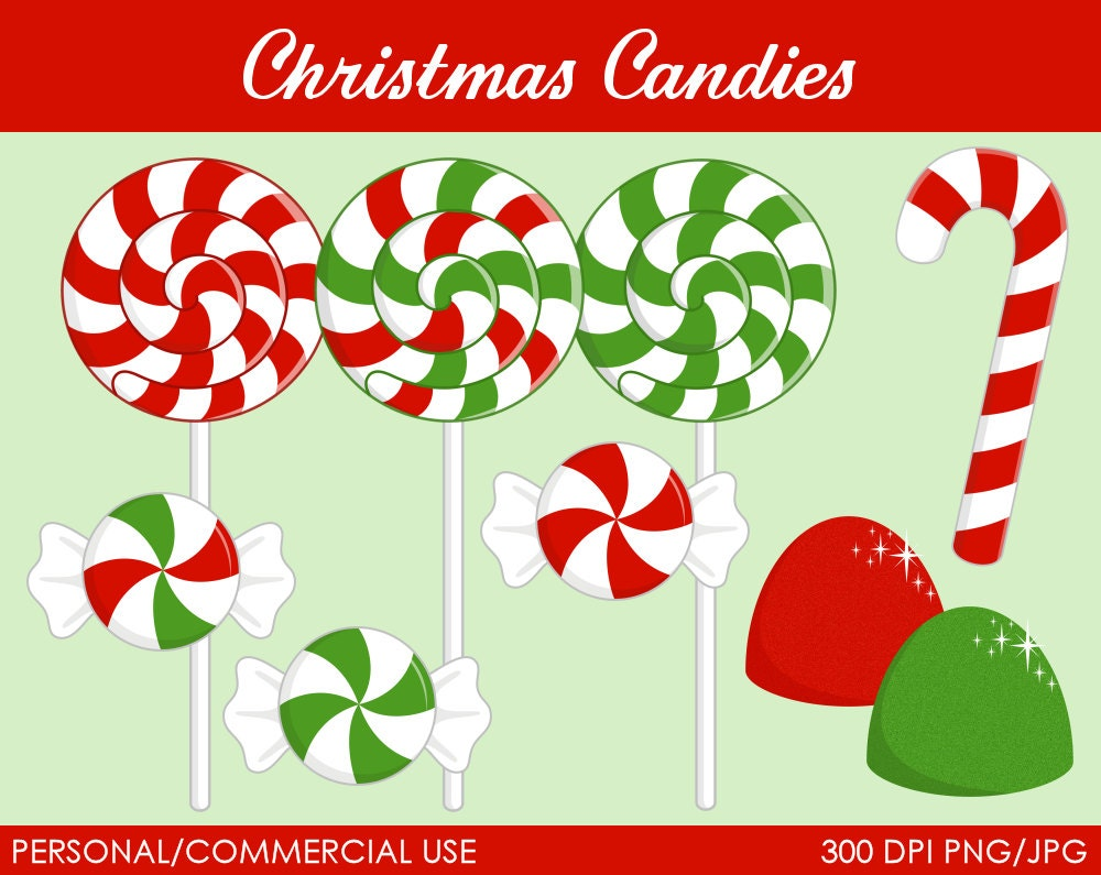 paintings christmas candy - photo #23