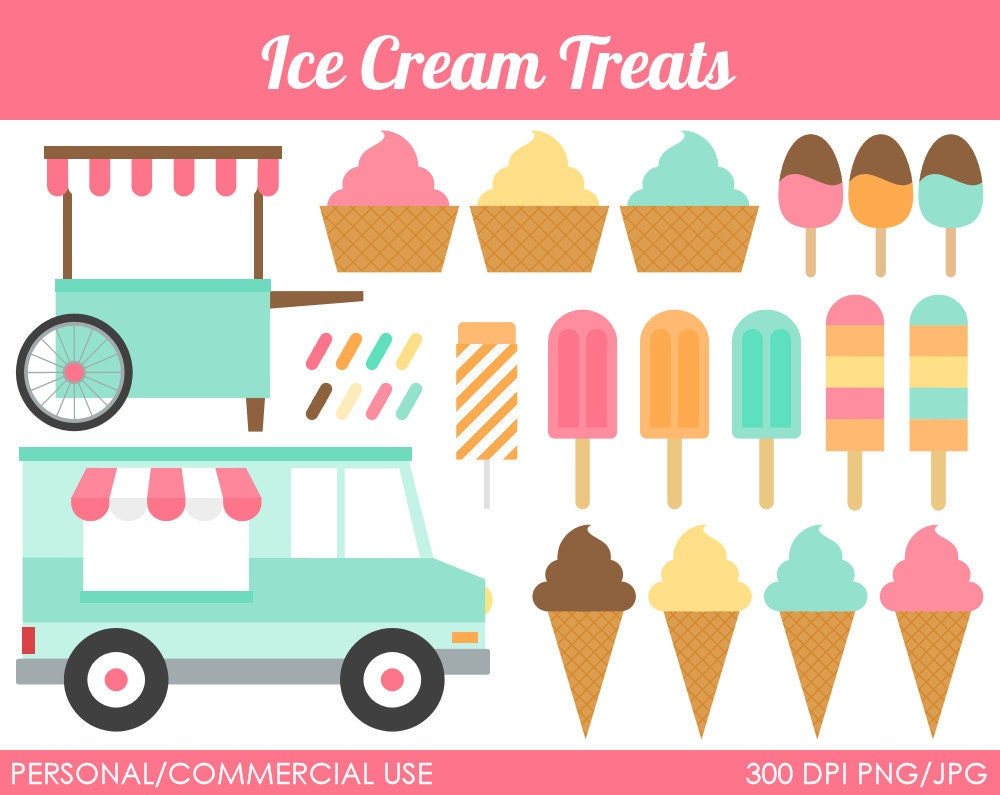 clip art ice cream party - photo #21