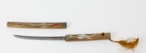 Vintage Mini Samurai Sword Knife Letter Opener Japan