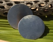 Nickel Silver Disc 20g 60mm Blanks Cutout for Metalworking Stamping Texturing Blank