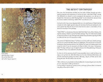 Pensieri Art Zine - Issue 06 - Gustav Klimt (Digital PDF)