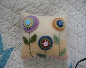 Tiny Penny Rug Pillow