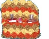 Crocheted  Bag Paolo Purse  Autumn Colors - amydscrochet