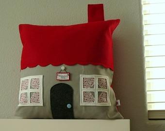 Kasandra Ct  - House Pillow Cover - Housewarming Gift