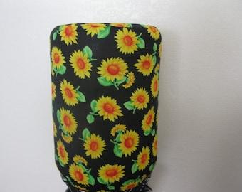 5 gallon Bottle Cover- Bright yellow sunflower