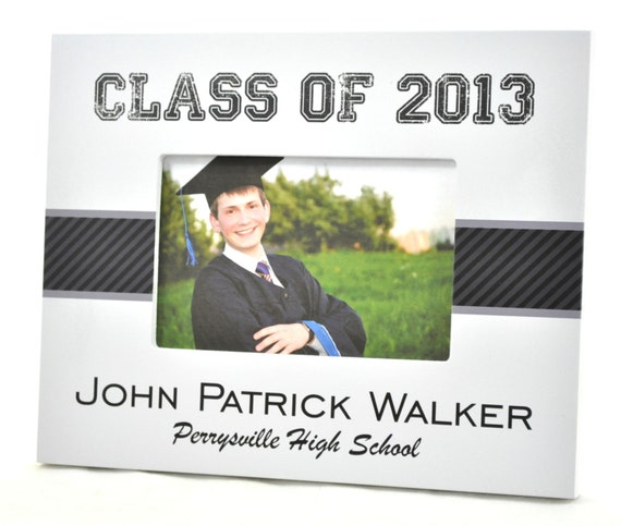 Personalized Graduation Picture Frame for 4x6 Graduation Gift Custom Frame Gift UPBB-01