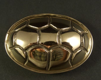 Terrapin Shell Belt Buckle - Bronze