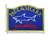 Free shipping Paul & Shark Iron On PATCH 6.5x8.5 cm