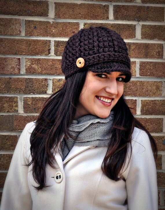 Crochet Newsboy Pattern Updated Classy Crochet