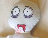 Zombie - Classic Horror Cutie - Handmade Doll