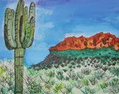 East Valley Mts - Greeting Card
