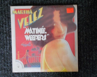 "Vintage Record-Martha Velez-""Matinee Weepers""-New-Sealed"