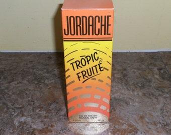 Vintage Jordache Tropic Fruite Eau De Toilette/Perfune-NICE