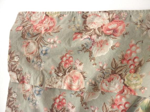 Shabby Chic Ralph Lauren Shower Curtain Floral Flowers