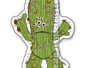Aquabats Super Show Cactus Monster Magnet