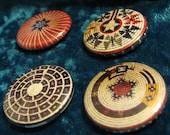 Baskets 1 Native American Button Set