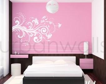 Vinyl Wall Sticker Decal Art - Blossom