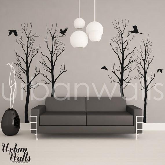 Vinyl Wall Sticker Decal Art - Trees