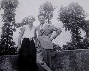 Vintage Photograph - 1930's Couple