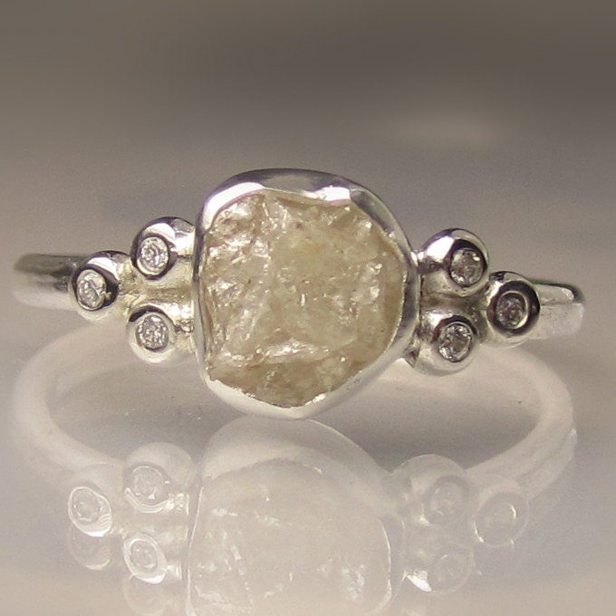 Like this item Unpolished Diamond Ring