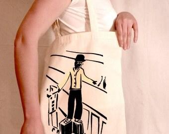 Mad Man Tote Bag