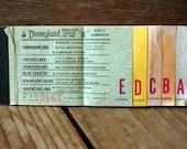 DISNEYLAND California 1977 Ticket  Book
