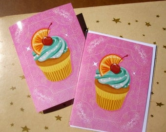Cute as a Cupcake Blank Greeting card