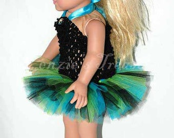 """Create Your Own Doll Tutu - Fits 18"""" Dolls, 15"""" Dolls, and Baby Dolls"""