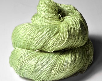 Mashed apple - Tussah Silk Lace Yarn