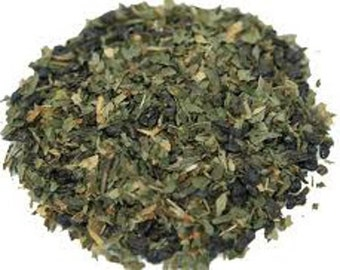 1 oz Organic Mint Green tea