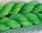 Reserved for Jennifer -- Margaritaville -- Hand dyed Worsted weight Yarn, 100% wool (330yrds)