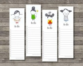 To Do Bookmark Notes . Digital Collection . Mayi Carles