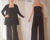UNCUT Vogue Pattern 2060 Jacket Jumpsuit Montana